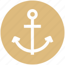 .svg, anchor, sea, sea anchor, ship anchor, ship hook icon