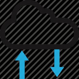 cloud, data, internet, online icon