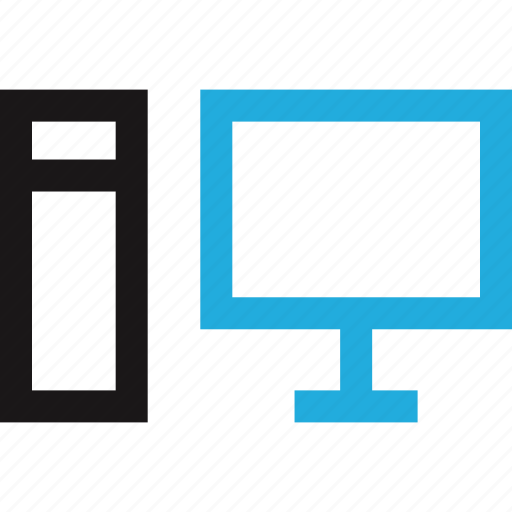 computer, data, desktop, internet icon