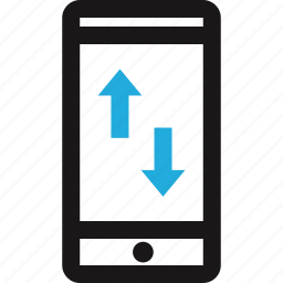 connect, data, internet, transfer icon