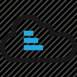 cloud, data, internet icon