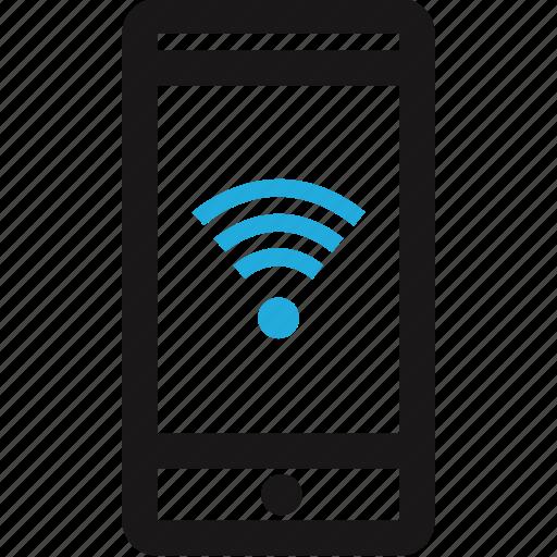data, internet, mobile, wifi icon
