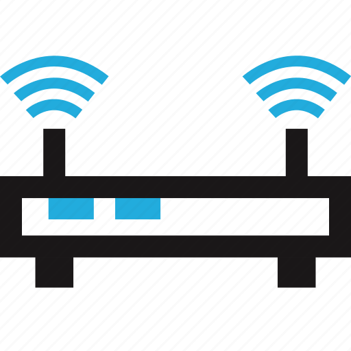 data, internet, router, wifi icon