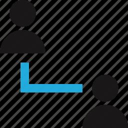 data, internet, person, user icon