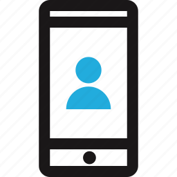 cell, person, phone, text, texting, user icon