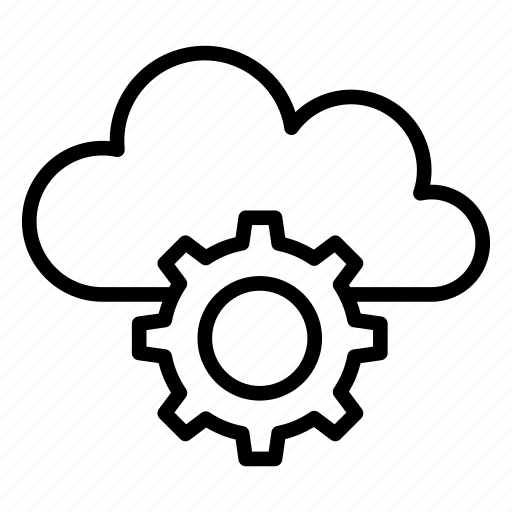 cloud, configure, preference, setting icon