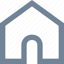 building, estate, home, house, internet, residential, web icon