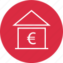 bank, bankier, currency, euro, loan icon