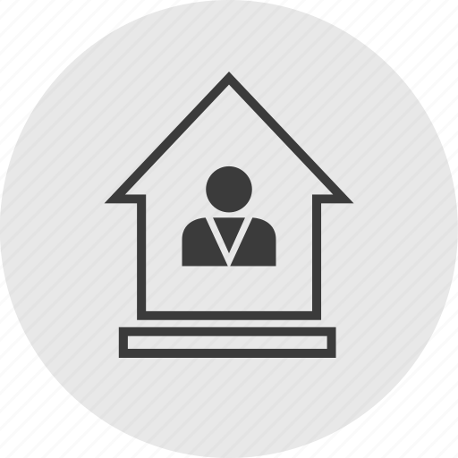 equity, home, house, profile, user icon