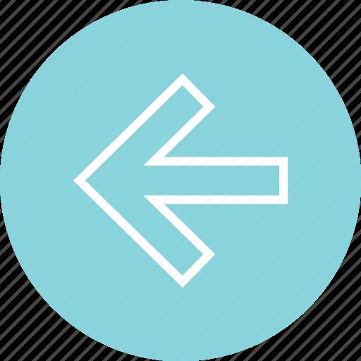 arrow, back, backwards, left, nav, navigation, ui icon