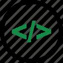 code, internet, program, programming, web icon