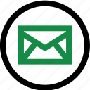 address, contact, email, internet, mail icon