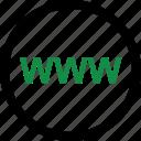 internet, visit, web, website, www icon