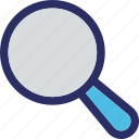 magnifier, magnifying glass, search tool, tool, view icon