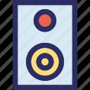 audio, loudspeakers, speakers, woofers icon