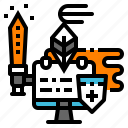 antivirus, protect, security, virus, warrior icon