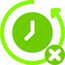 backup, queue, restart, stop, time icon