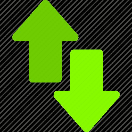 arrow, connection, data, internet, sync icon