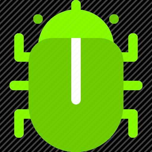 bug, computer, hack, programmer, virus icon