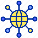 connection, internet, network, website icon