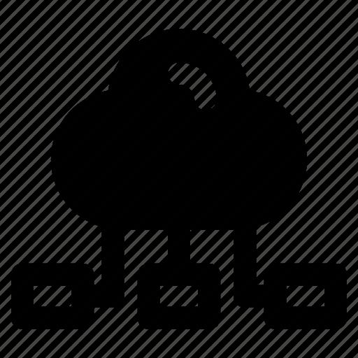 Internet, marketing, hosting, cloud, computing, network, server icon - Download on Iconfinder