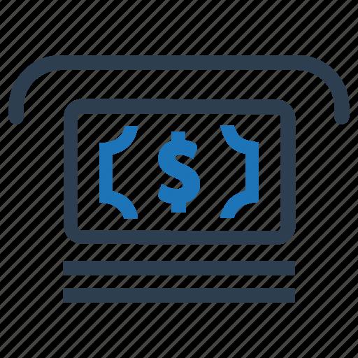 cash, cash out, cashout, money, payment, withdraw icon