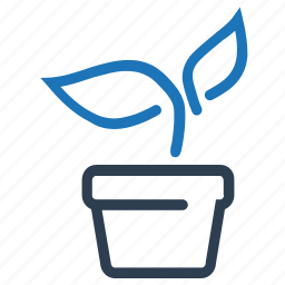 irrigation, plant, potted plant, water plant, watering icon