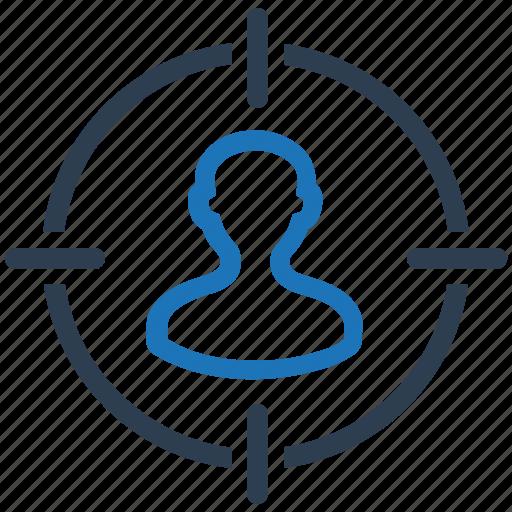 Audience targeting, market target, human resources icon - Download on Iconfinder