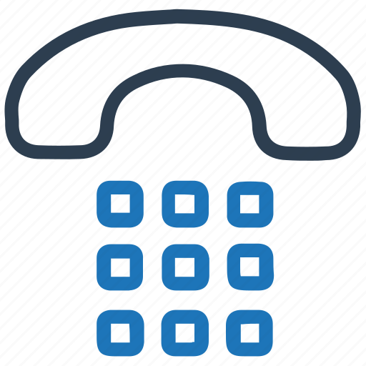 call, dial, telephone icon