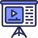 marketing, meeting, presentation, video