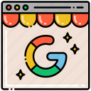 business, management, my, google icon