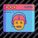 bot, marketing, seo icon