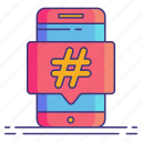 hashtag, marketing, seo