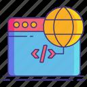 hreflang, marketing, tag icon