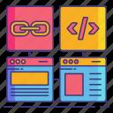 hyperlink, marketing, web
