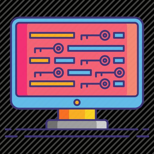 Density, keyword, marketing icon - Download on Iconfinder