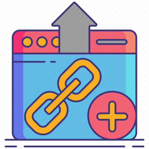 Building, link, marketing icon - Download on Iconfinder