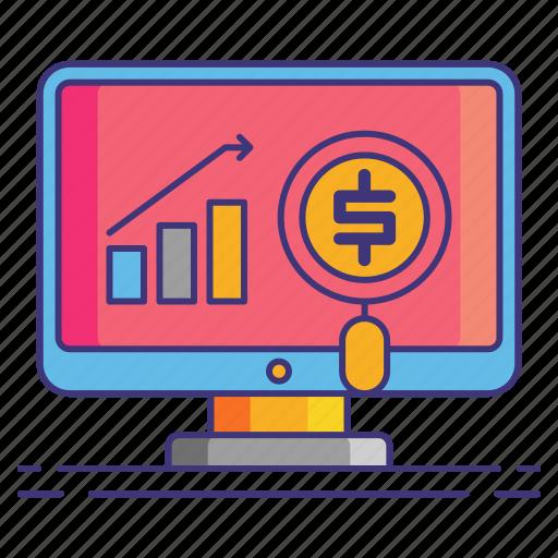 marketing, paid, traffic icon