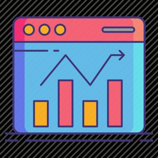 marketing, performance, seo icon