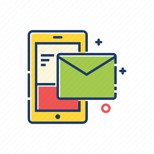 email, email marketing, mail, marketing, mobile, smart phone icon