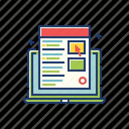 advertisement, internet, marketing, online, ppc, search marketing, seo icon