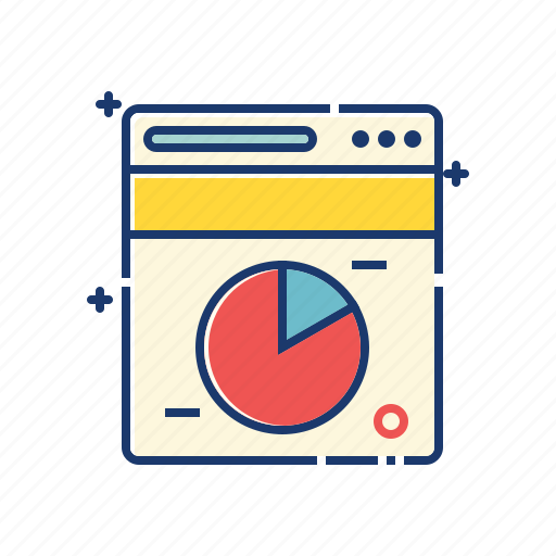 analysis, analytics, business, chart, marketing, pie chart, report icon