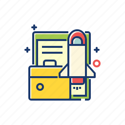 business, growth, launch, marketing, office, stratup icon