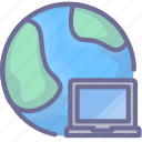 computer, internet, network icon