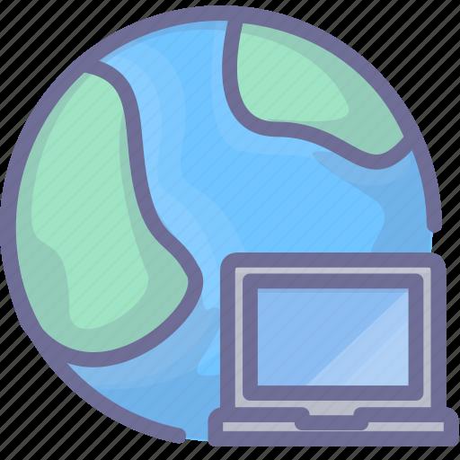 computer, internet, network icon