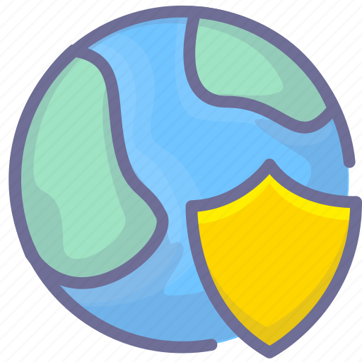 internet, network, protection, security icon