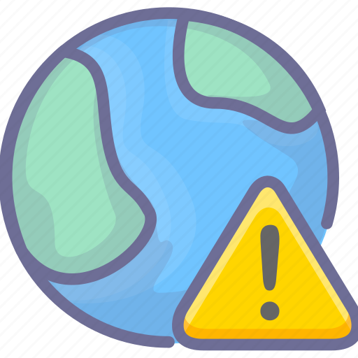 alert, connection, earth, internet, network icon