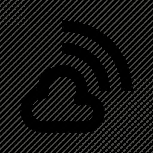 Cloud network, wifi cloud, wifi zone, wireless fidelity, wireless network icon - Download on Iconfinder