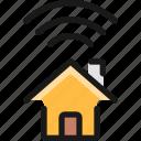 house, signal