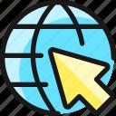 network, arrow